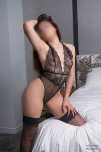Carmen Vasquez kneeling